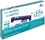 Iris IRIScan Anywhere 3 Wifi Scanneur mobile A4 USB Noir