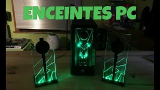 Je teste des Enceintes PC à LED !